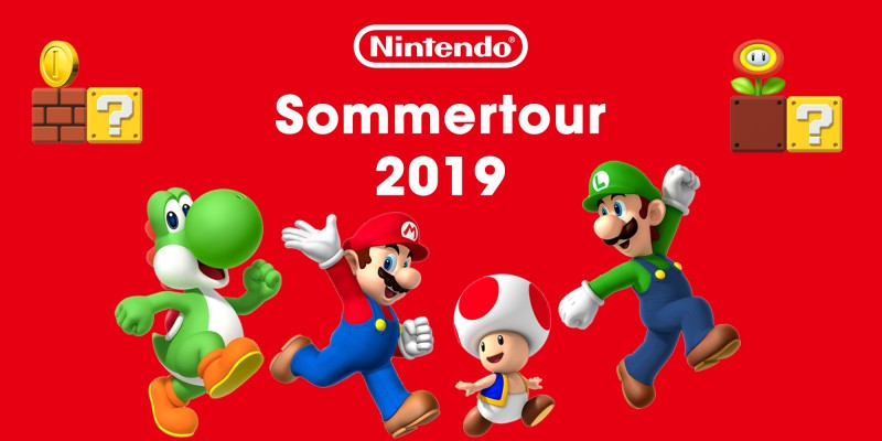 Nintendo Switch Sommertour 2019