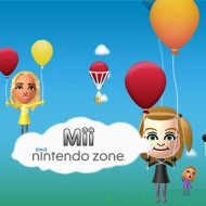 Mii in der Nintendo Zone