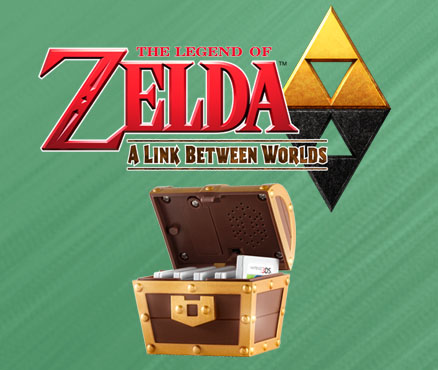 The Legend of Zelda: A Link Between Worlds Registrierungsaktion
