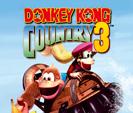 donkey kong country 3 wii u