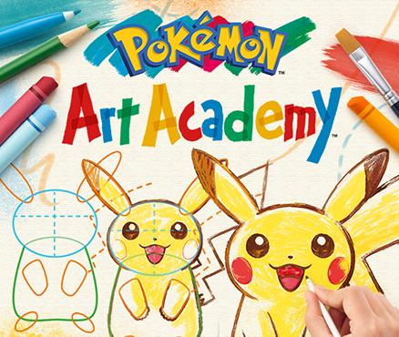 In Pokémon Art Academy Für Nintendo 3ds Lieblings Pokémon Zeichnen