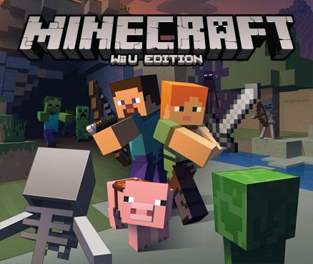 minecraft wii u edition jeux t l charger sur wii u jeux nintendo. Black Bedroom Furniture Sets. Home Design Ideas