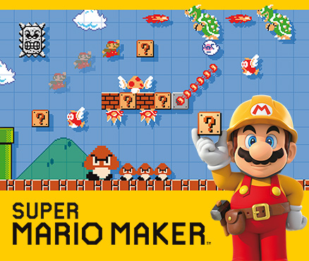 Super Mario Maker sur Wii U s'écoule à un million d'exemplaires à travers le monde