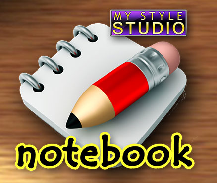 My Style Studio: Notebook