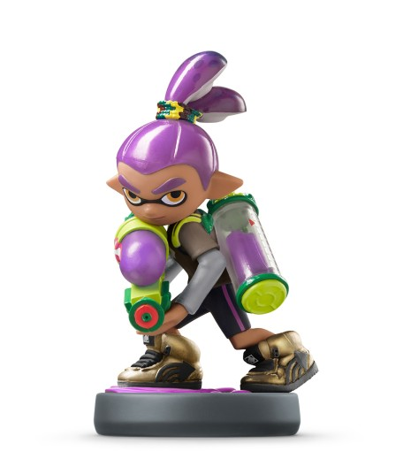 Inkling Junge Lila Splatoon Collection Nintendo