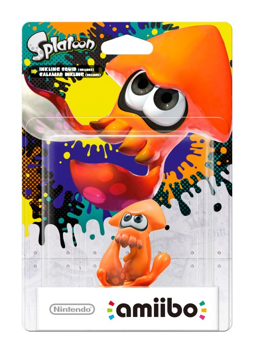 Inkling-Tintenfisch (orange)