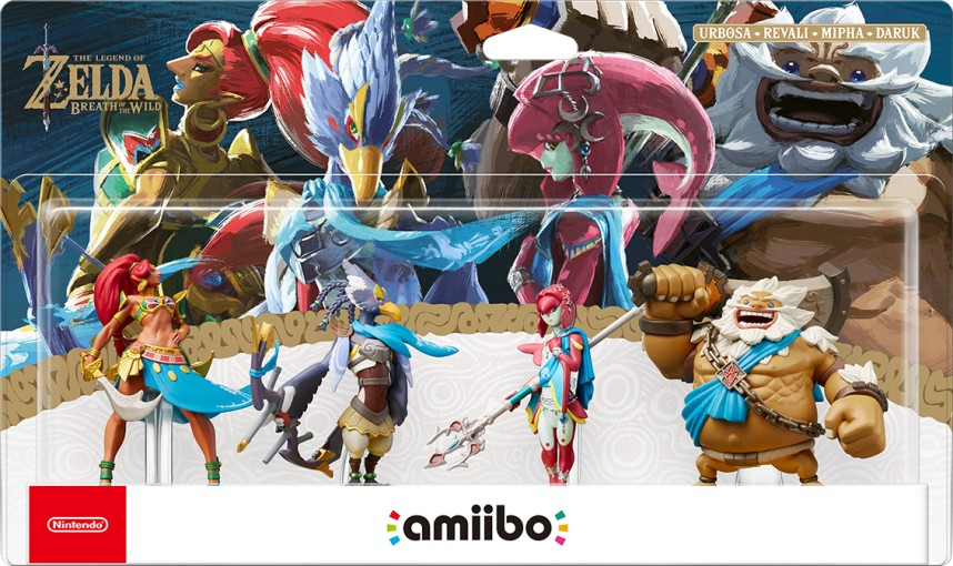 amiibo zelda breath of the wild pack 4