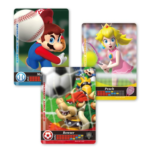 Mario Sports Superstars-amiibo-Karten