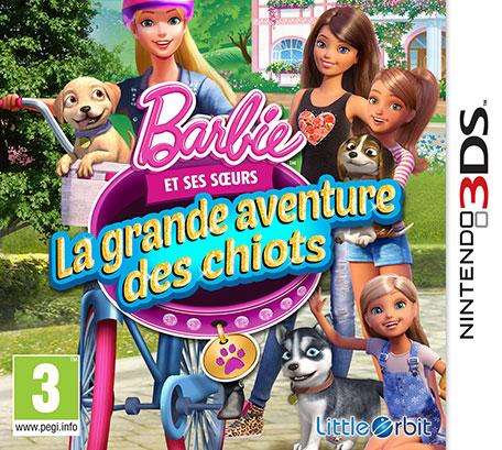 Barbie et ses Soeurs : La Grande Aventure des Chiots.EUR.MULTi3.3DS-PUSSYCAT