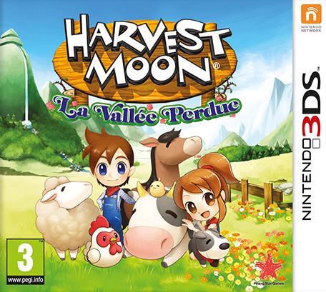 harvest moon la vall e perdue nintendo 3ds jeux. Black Bedroom Furniture Sets. Home Design Ideas