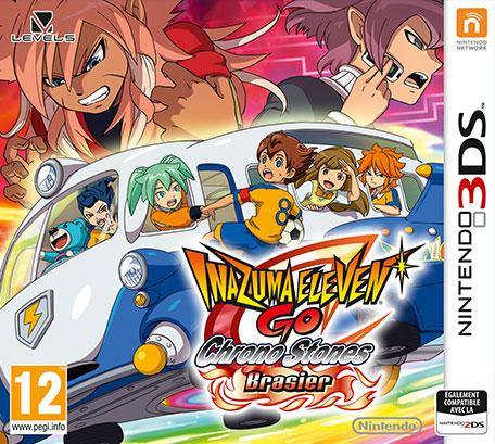 Inazuma Eleven GO : Chrono Stones Brasier.3DS-VENOM
