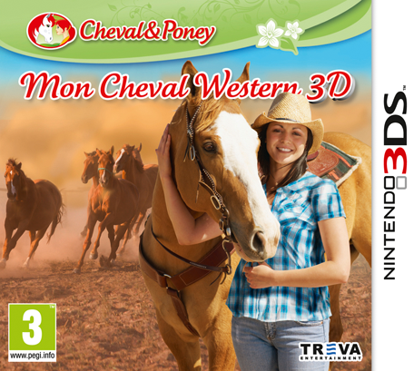mon cheval western 3d nintendo 3ds jeux nintendo. Black Bedroom Furniture Sets. Home Design Ideas