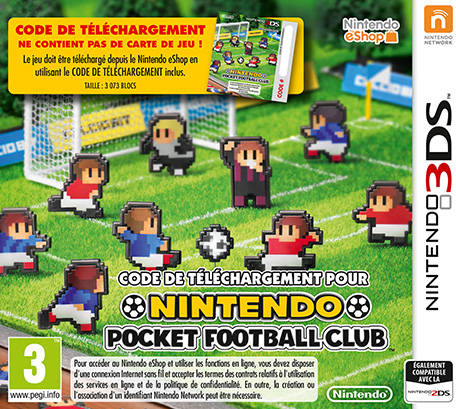 Nintendo Pocket Football Club [CIA]