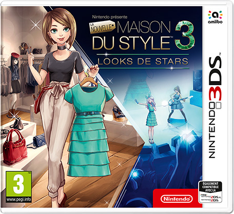 nintendo pr sente la nouvelle maison du style 3 looks de stars nintendo 3ds jeux nintendo. Black Bedroom Furniture Sets. Home Design Ideas