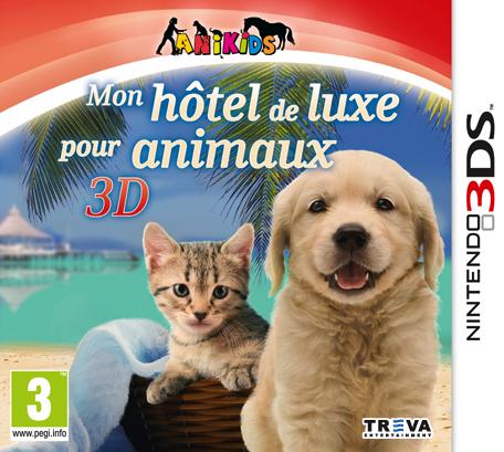 mon h tel de luxe pour animaux 3d nintendo 3ds jeux nintendo. Black Bedroom Furniture Sets. Home Design Ideas