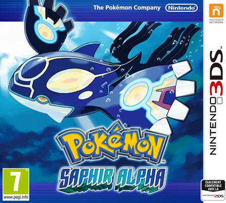 Pok mon saphir alpha nintendo 3ds jeux nintendo - Jeux info pokemon ...