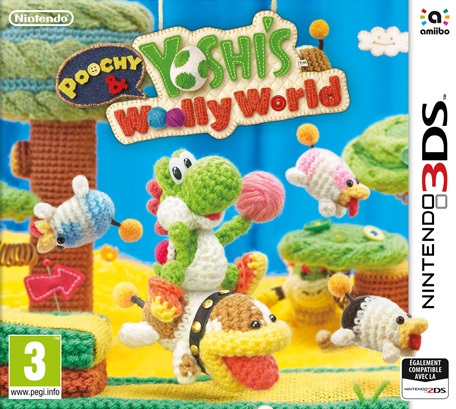 poochy yoshi 39 s woolly world nintendo 3ds jeux nintendo. Black Bedroom Furniture Sets. Home Design Ideas