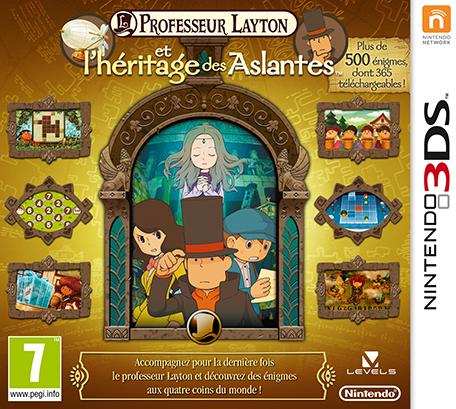 Professeur Layton et l'Héritage des Aslantes 3DS