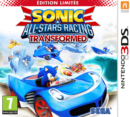 sonic all stars racing transformed nintendo 3ds jeux nintendo. Black Bedroom Furniture Sets. Home Design Ideas