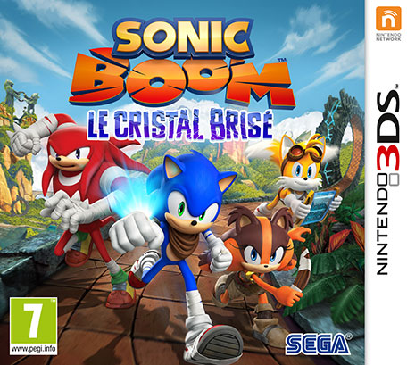 sonic boom le cristal bris nintendo 3ds jeux nintendo. Black Bedroom Furniture Sets. Home Design Ideas