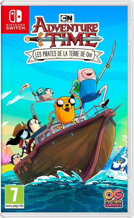 Adventure Time: Les Pirates de la Terre de Ooo (PC, PS4, XBOX ONE & Nintendo Switch) PS_NSwitch_CartoonNetworkAdventureTimePiratesOfTheEnchiridion_frFR
