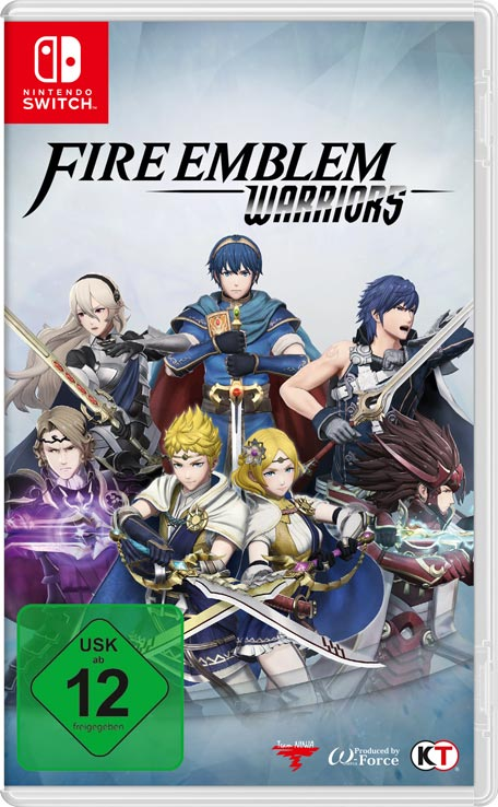 Fire Emblem Warriors cover art