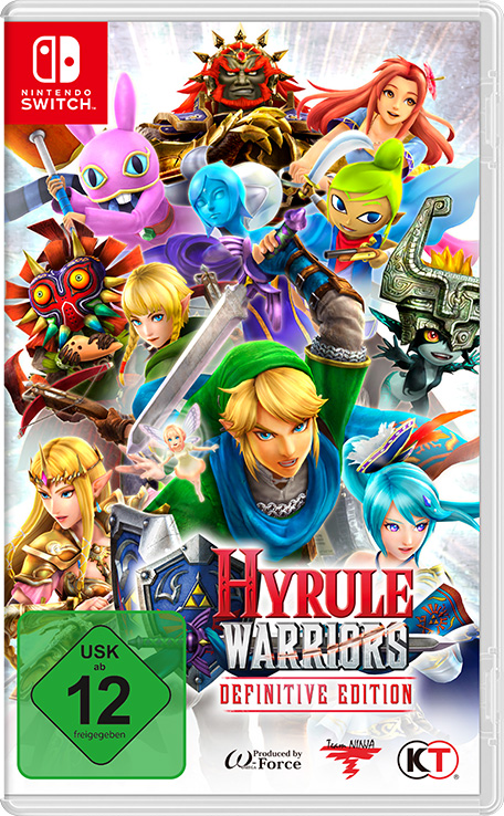 Hyrule Warriors: Definitive Edition cover art