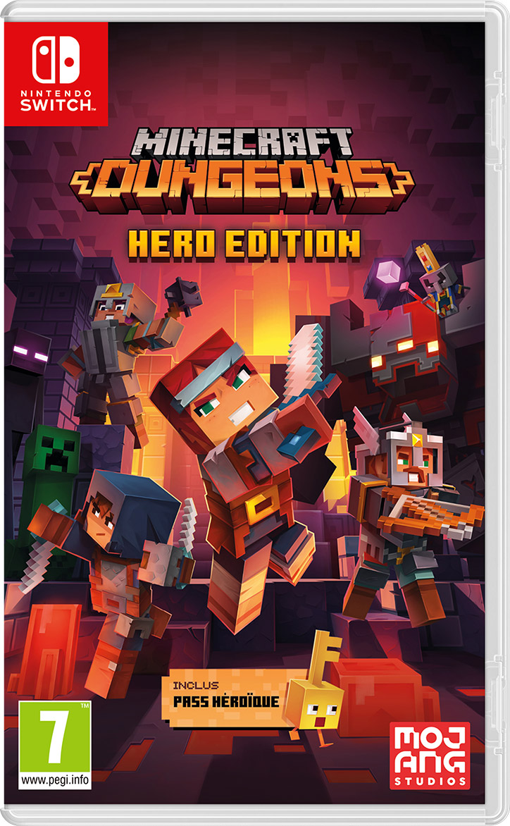 Minecraft : Dungeons - Hero Edition (SWITCH)