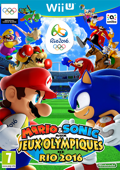 mario sonic aux jeux olympiques de rio 2016 wii u. Black Bedroom Furniture Sets. Home Design Ideas