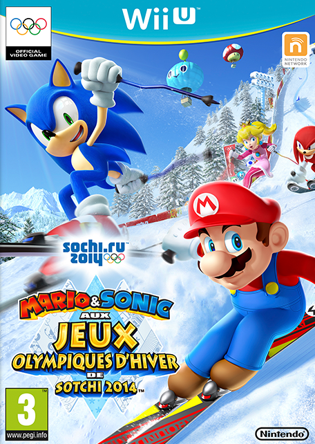 mario sonic aux jeux olympiques d 39 hiver de sotchi 2014. Black Bedroom Furniture Sets. Home Design Ideas