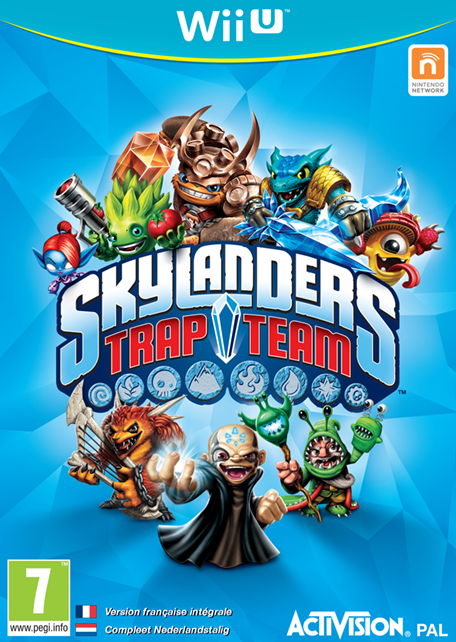 Skylanders trap team wii u jeux nintendo - Jeux gratuit skylanders ...