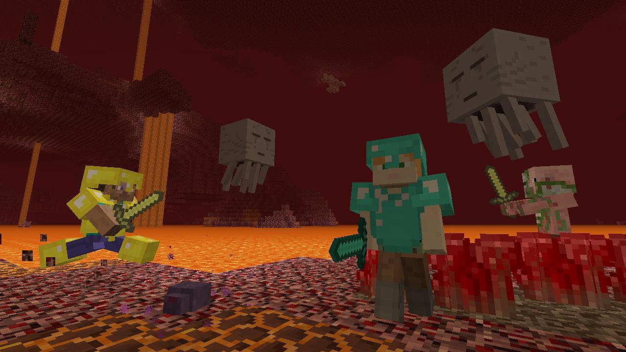 Minecraft Nintendo Switch Edition Nintendo Switch Spiele Nintendo - Minecraft demo zum jetzt spielen