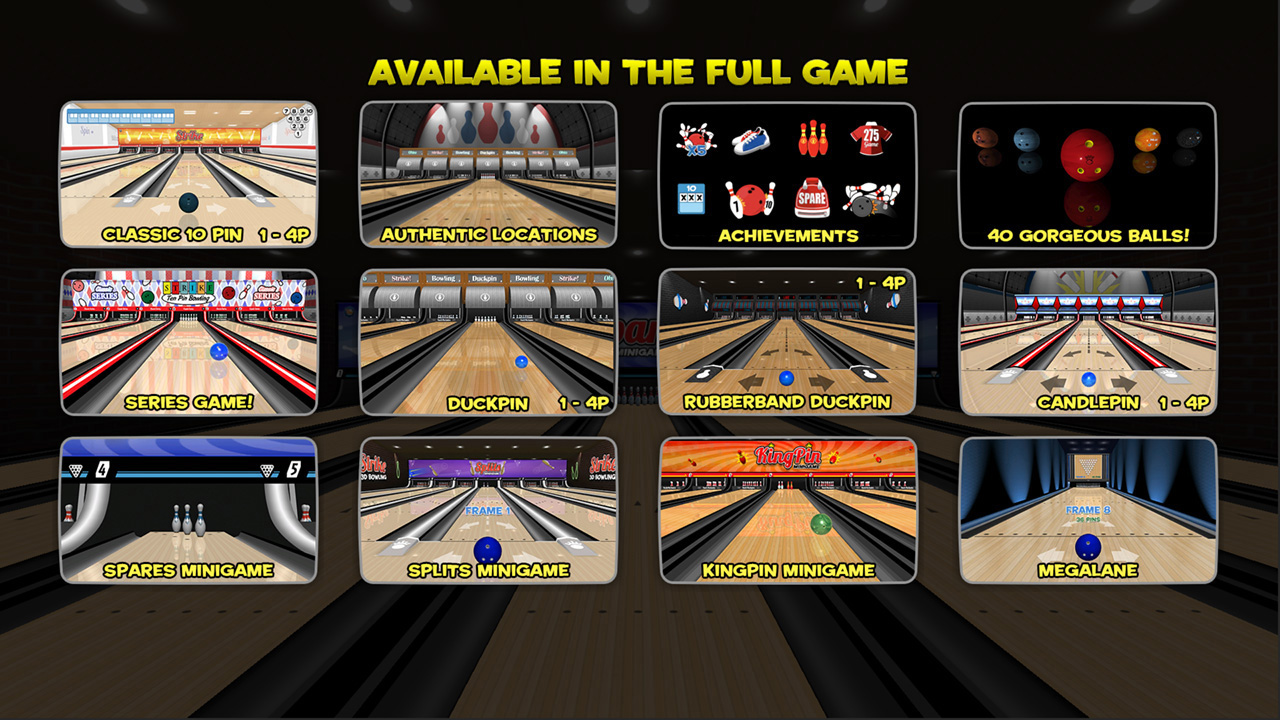 Strike Ten Pin Bowling   Nintendo Switch Download Software ...