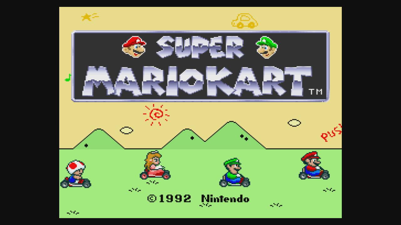 Super Mario Kart Nintendo Spiele Wii Luigi Circuit
