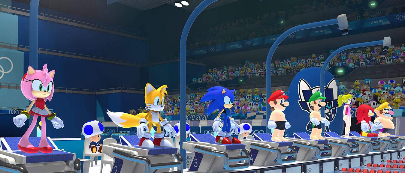 Mario Sonic Aux Jeux Olympiques De Tokyo 2020 Nintendo