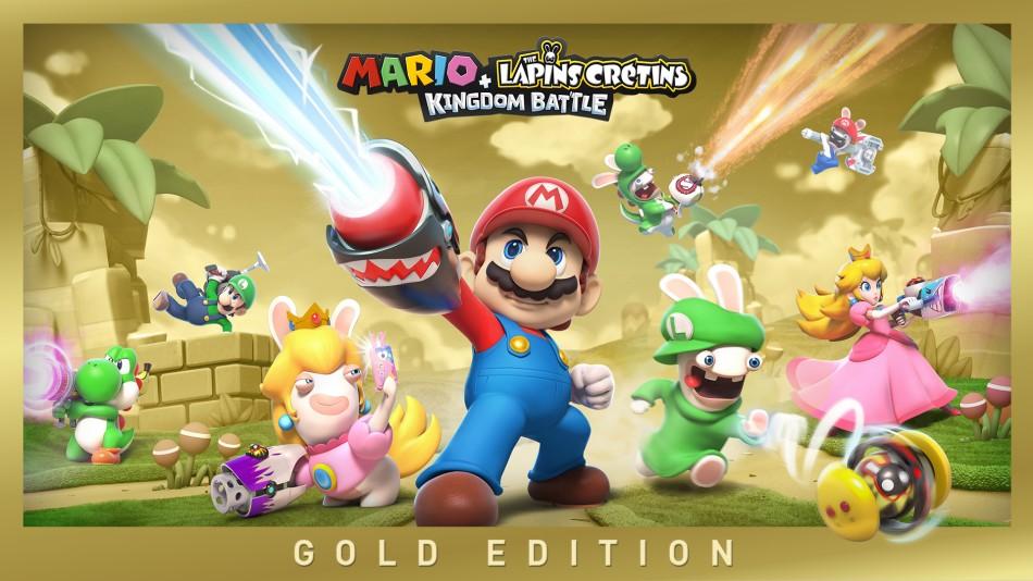 Mario The Lapins Crétins Kingdom Battle Nintendo Switch Jeux