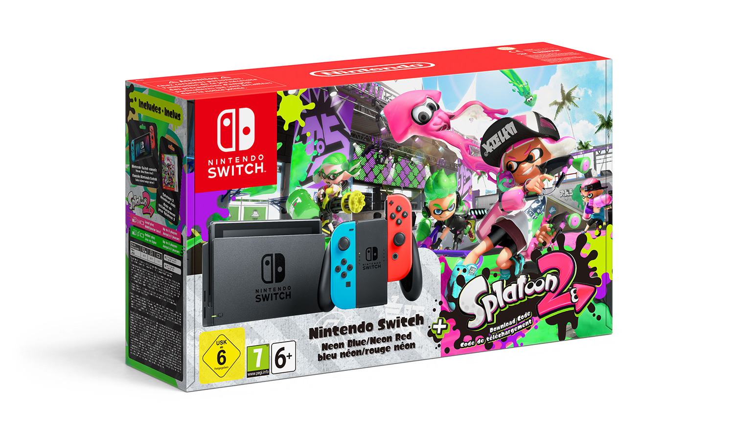 splatoon 2 est disponible d s aujourd 39 hui sur nintendo. Black Bedroom Furniture Sets. Home Design Ideas