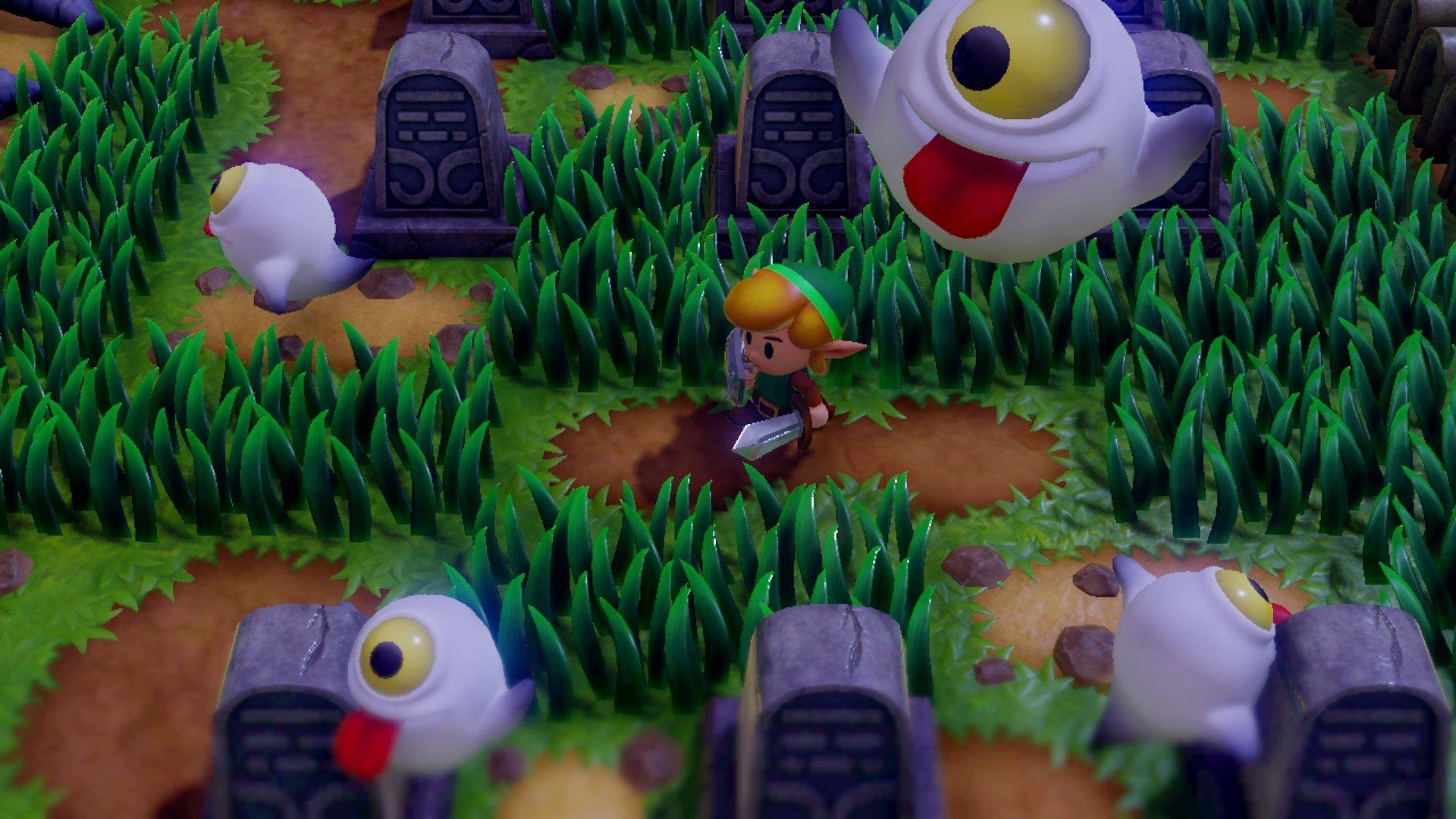 remake de Link's Awakening