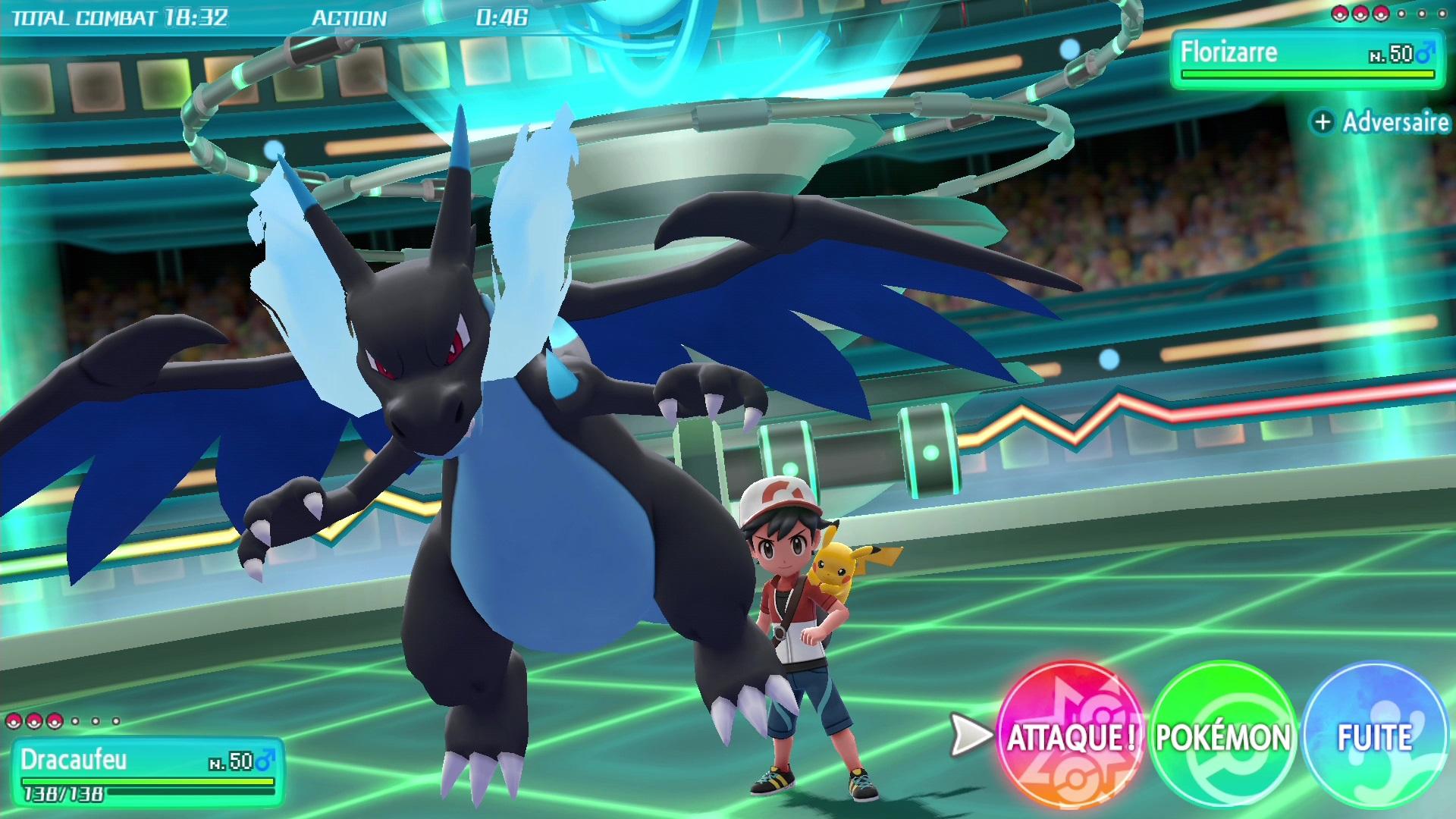 La Méga évolution Dans Pokémon Lets Go Pikachu Et