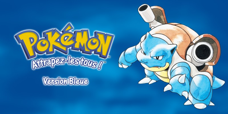 Pokémon Version Bleue