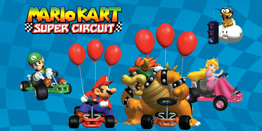 Mario Kart Super Circuit Game Boy Advance Spiele Nintendo