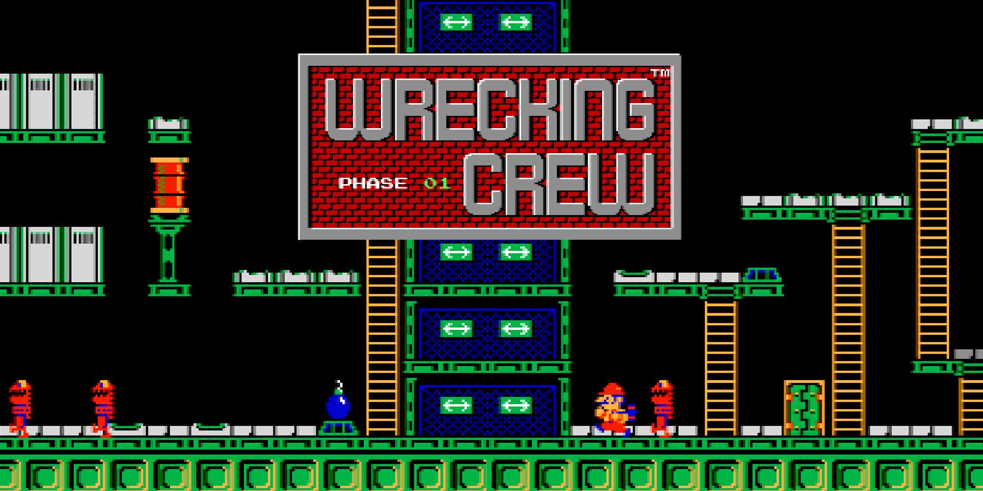 Wrecking Crew   NES   Spiele   Nintendo