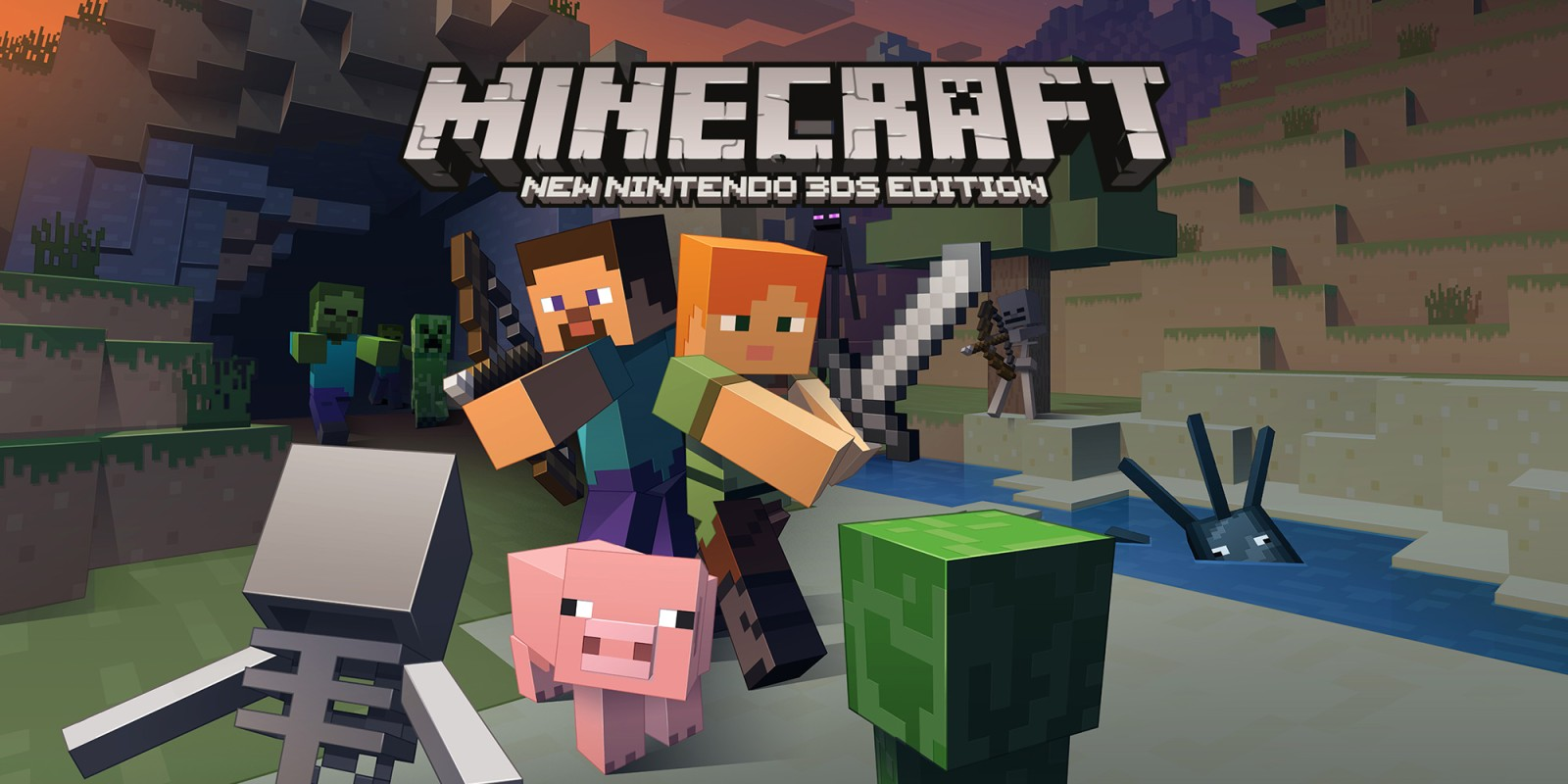 Minecraft New Nintendo DS Edition New Nintendo DS Spiele - Minecraft spielen kostenlos ohne download deutsch