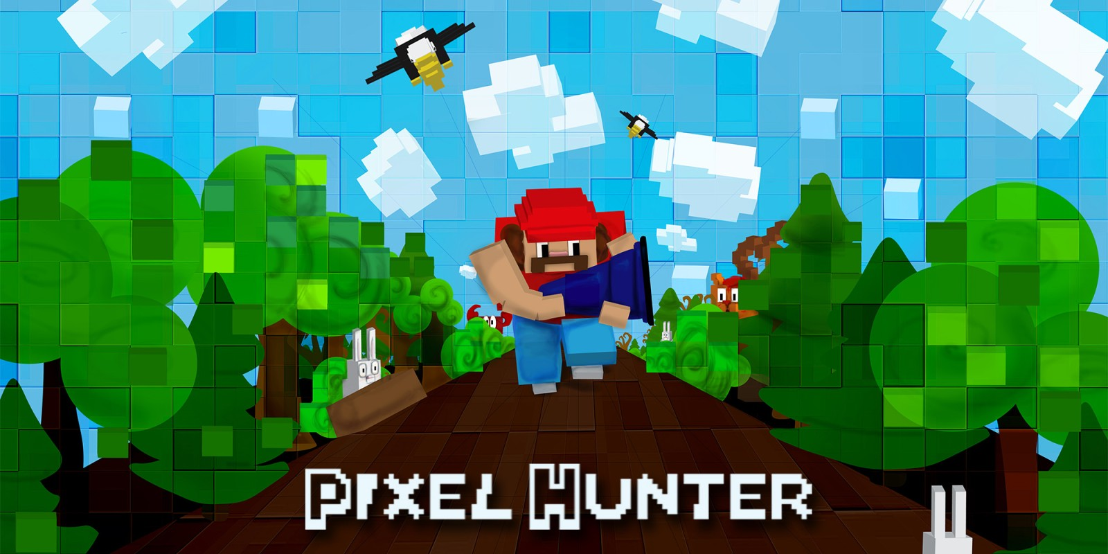 Pixel Hunter New Nintendo DS DownloadSoftware Spiele Nintendo - Minecraft pixel spiele