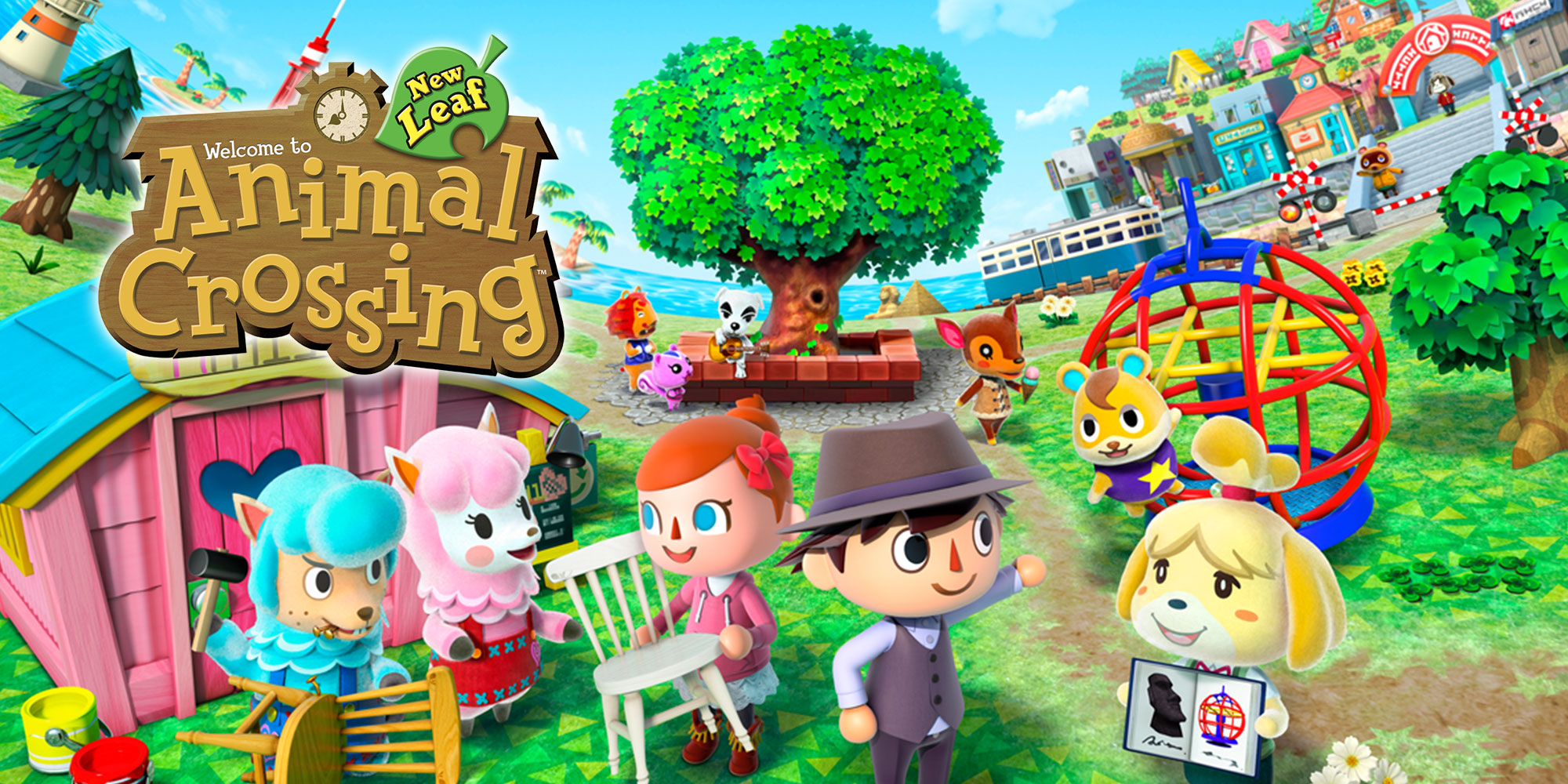 [3DS] Max à l'honneur dans Animal Crossing: New Leaf - Welcome amiibo