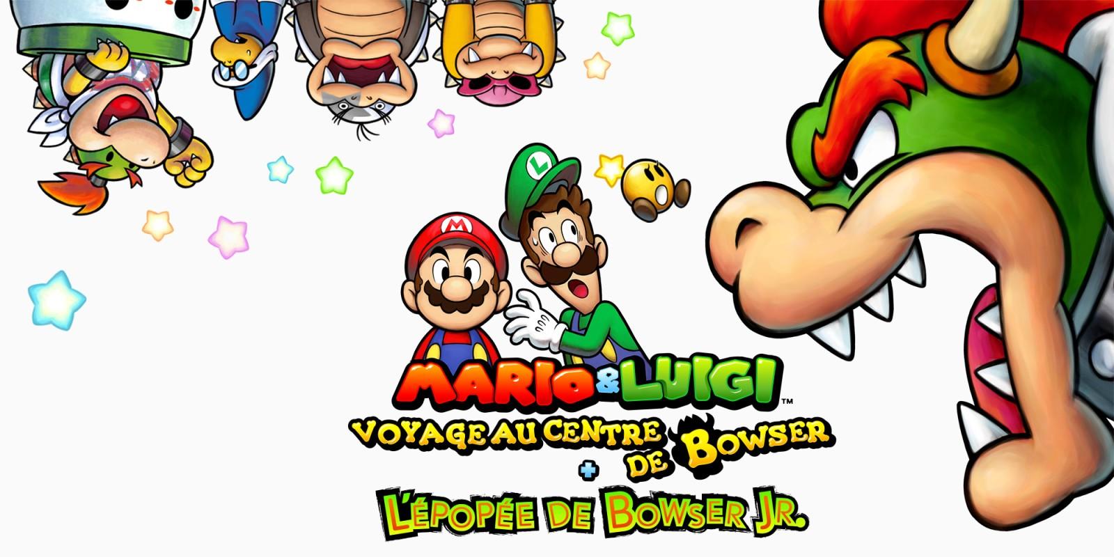 Mario Luigi Voyage Au Centre De Bowser L épopée De