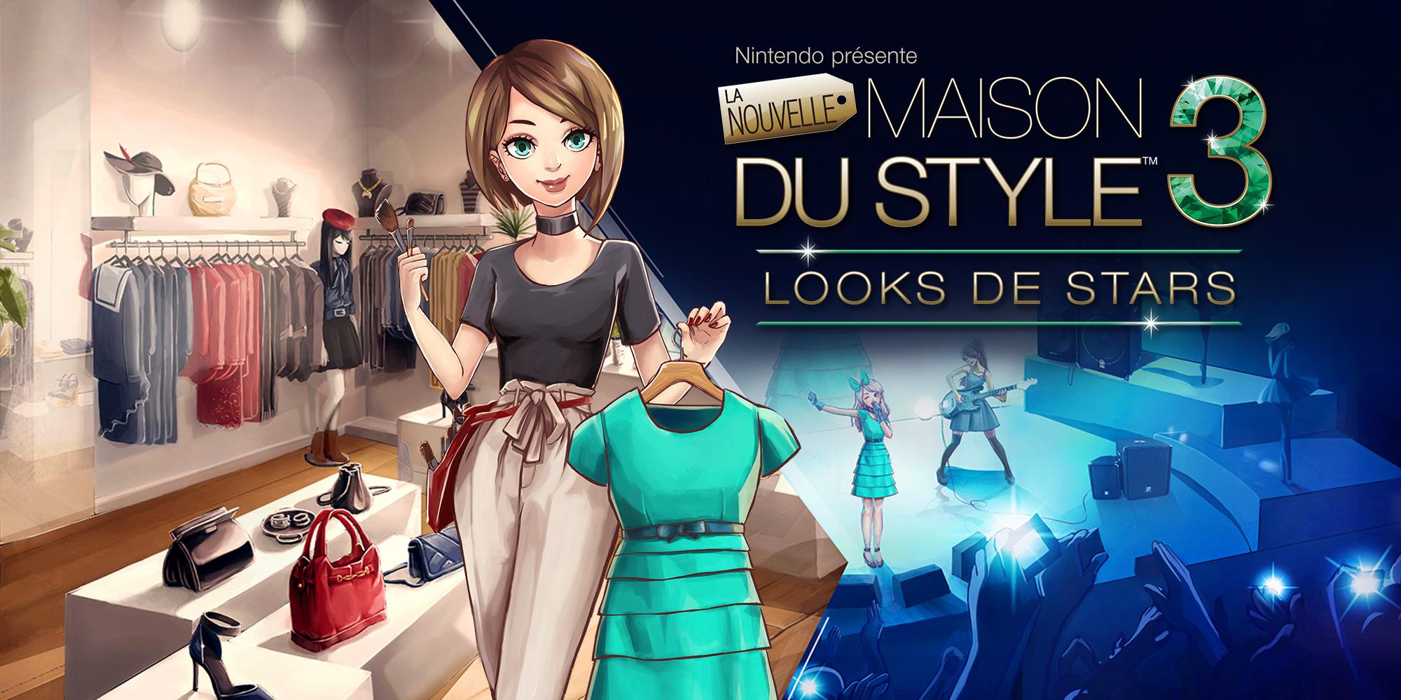 Nintendo Presente La Nouvelle Maison Du Style 3 Looks De Stars Nintendo 3ds Jeux Nintendo