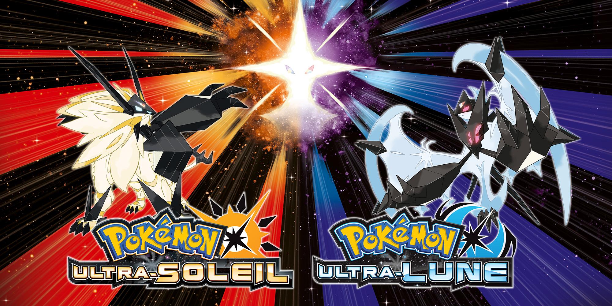 Pokémon Ultra Soleil Et Pokémon Ultra Lune Sont Disponibles