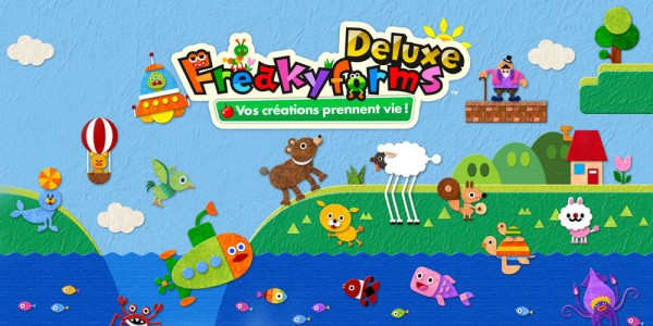 Freakyforms Deluxe : Vos créations prennent vie !