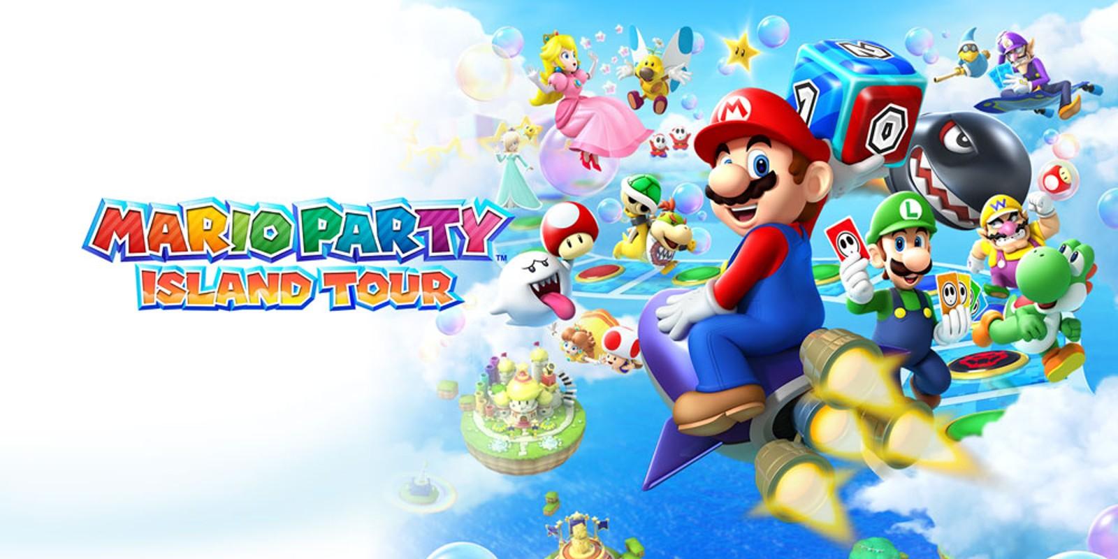 Mario Party Island Tour Nintendo 3ds Jeux Nintendo